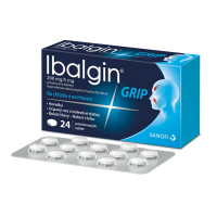IBALGIN Grip 200 mg / 5 mg 24 tablet