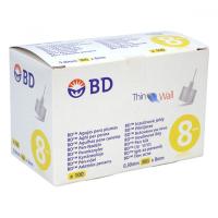 BECTON DICKINSON Inzulinové jehly BD 0.30 x8 mm (30G) 100ks