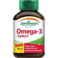 JAMIESON Omega-3 Select 1000 mg 200 kapslí