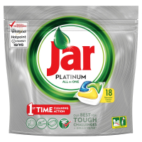 JAR Tablety do myčky Platinum Yellow 18 ks