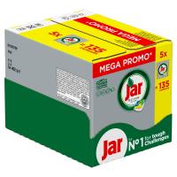 JAR Platinum tablety do myčky megabox 135 ks
