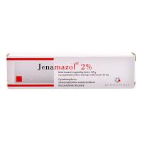JENAMAZOL 2% Poševní krém s aplikátorem 20 mg