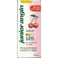 JUNIOR angin - sirup pro děti 100 ml