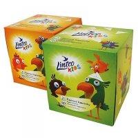LINTEO Papírové kapesníky Kids BOX 2-vrstvé 80 kusů