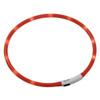 KARLIE FLAMINGO Obojek USB Visio Light 35 cm oranžový KAR