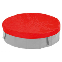 KARLIE FLAMINGO Plachta na bazén pro psy červená 80 cm