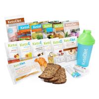 KetoDiet proteinová dieta ochutnávkový balíček na 3 dny 15 porcí