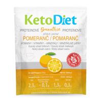 KETODIET Proteinové smoothie s pomerančovou příchutí 7 porcí