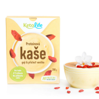 KETOLIFE Proteinová kaše goji a příchuť vanilka 200 g