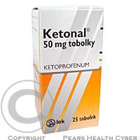 KETONAL  25X50MG Tobolky