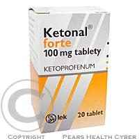 KETONAL FORTE  20X100MG Potahované tablety