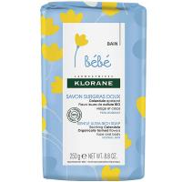 KLORANE Bébé Velmi jemné výživné mýdlo 250 g
