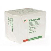 Komprese Vliwasoft nesterilní 10x10cm/4v 100 ks