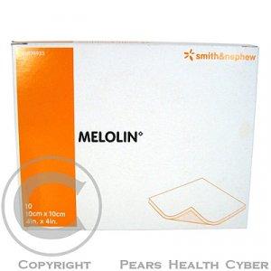 Krytí Melolin sterilní nepřilnavé na rány 10x10 cm / 10 ks