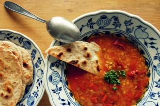 Kuchařkou: Pikantní červená polévka