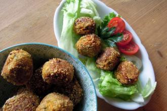 Kuchařkou: Vegetariánské kofty