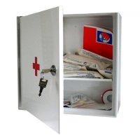 Lékárnička nástěnná s náplní do 20 osob - ZM20 kovová