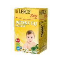 LEROS BABY Dětský čaj bylinný 20 sáčků