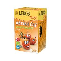 LEROS BABY Dětský čaj rakytníkový 20 sáčků