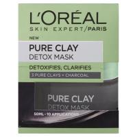 L´OREAL Pure Clay Detox Maska 50 ml