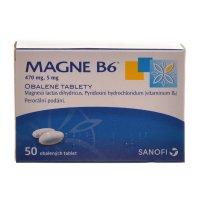 SANOFI Magne B6 50 obalených tablet