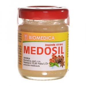 BIOMEDICA Medosil pastovaný med se silicemi 65 g