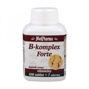 MEDPHARMA B komplex Forte 100 tablet + 7 ZDARMA
