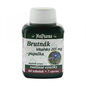 MedPharma Brutnák lékařský 205 mg + pupalka tob. 67