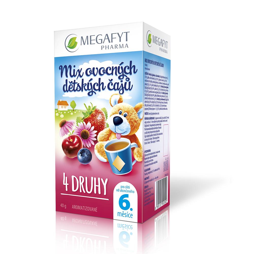 MEGAFYT PHARMA Mix ovocných dětských čajů 20x2 g