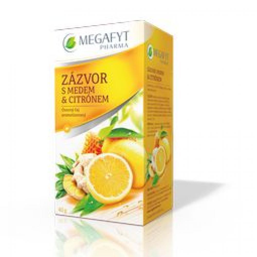 Megafyt Zázvor s medem a citrónem n.s.20x2g