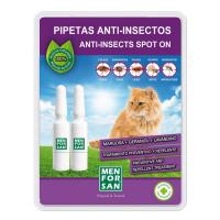 MENFORSAN Antiparazitní pipety pro kočky 2 kusy