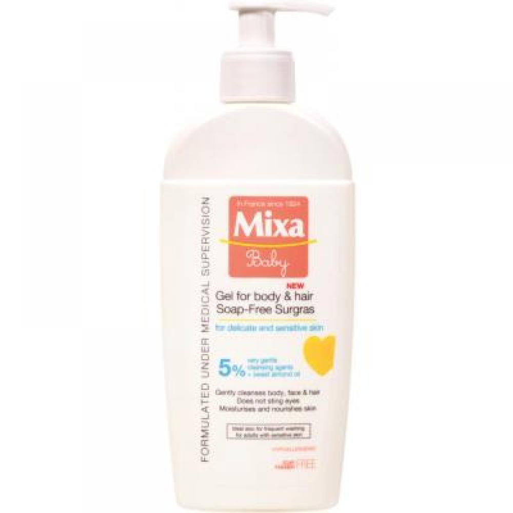 MIXA Baby gel 2v1 250 ml