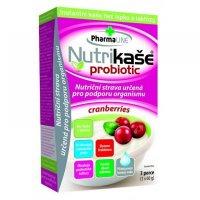 PHARMALINE Nutrikaše probiotic S brusinkami 3x60 g