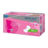 MOLICARE Lady inkontinenční vložky 2 kapky 14 kusů