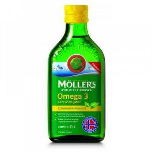 MÖLLER´S Omega 3 s citronovou příchutí 250 ml