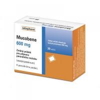 Mucobene 600 mg 20 sáčků