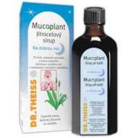 DR. THEISS Mucoplant jitrocelový sirup při kašli Na dobrou noc 250 ml