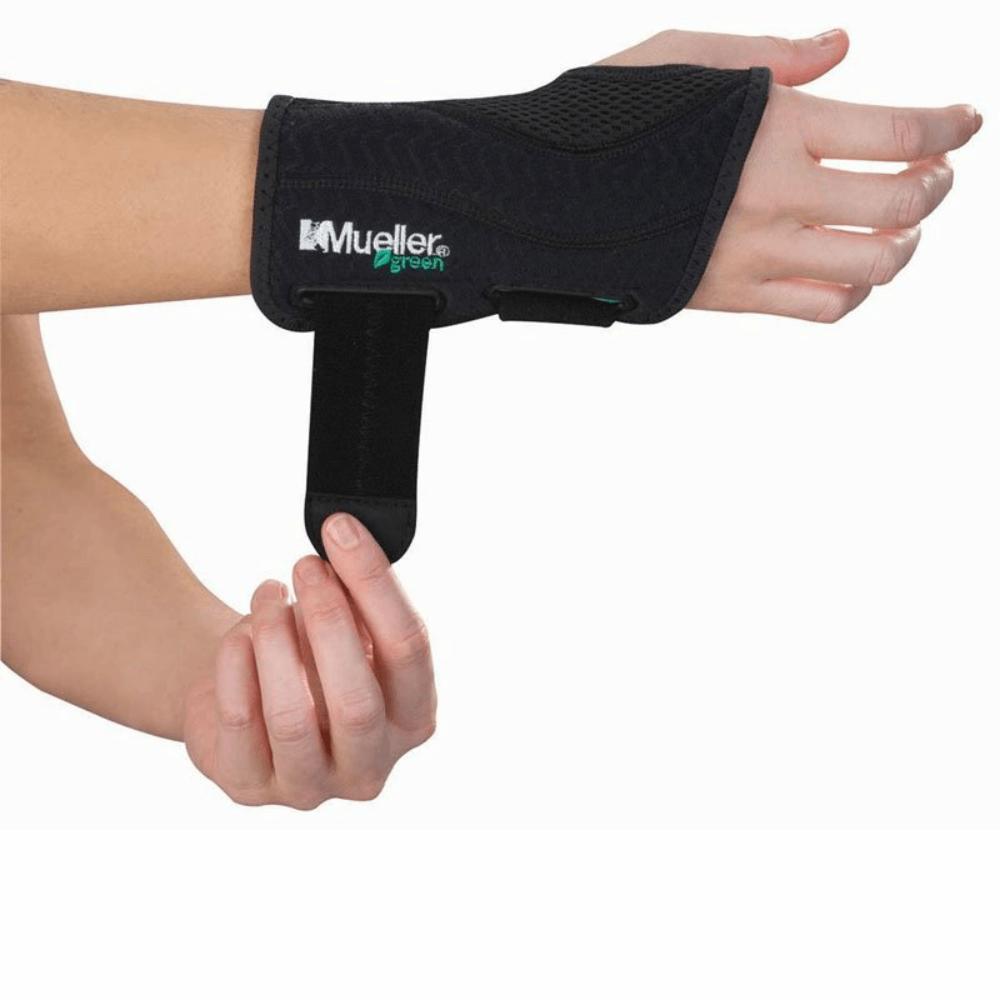 MUELLER Green Ortéza na zápěstí SM/MD levá