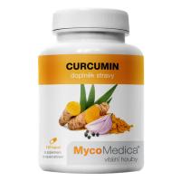 MYCOMEDICA Curcumin 120 vegan rostlinných kapslí