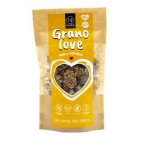 NATU Granolove Banán & Tygří ořechy RAW 230 g BIO