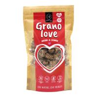 NATU Granolove Jahoda & Quinoa RAW 230 g BIO