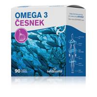 NEFDESANTÉ Omega 3 česnek 90 kapslí
