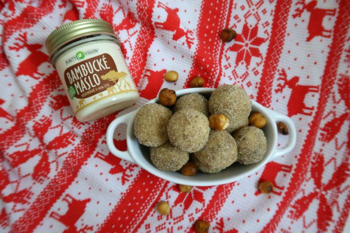 Netradiční vánoční cukroví: Máslové kuličky z bambuckého másla