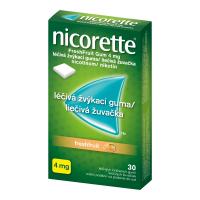 NICORETTE Freshfruit 4 mg Léčivá žvýkací guma 30 kusů