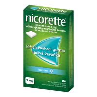 NICORETTE Icemint 2 mg Léčivá žvýkací guma 30 kusů