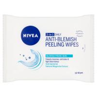 NIVEA Hloubkově čistící peelingové ubrousky 3v1 20 ks