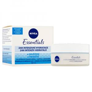 NIVEA Essentials Denní zvláčňující krém normální až smíšená pleť 50 ml