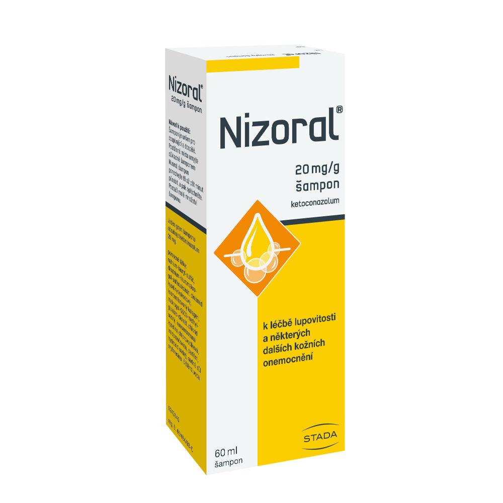 NIZORAL Šampon 20 mg 60 ml