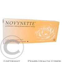 NOVYNETTE  1X21 Potahované tablety