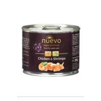 NUEVO adult Kuře a krevety konzerva pro kočky 200 g